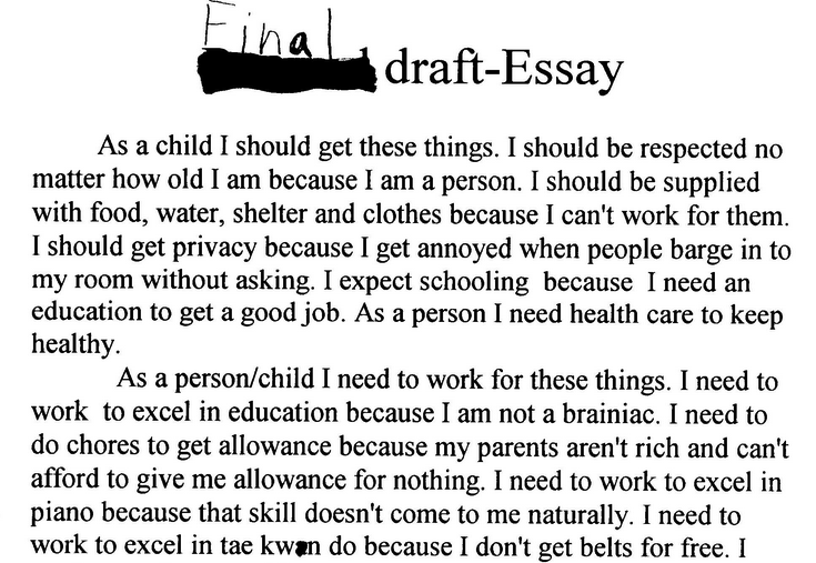 Pay people to do their essay